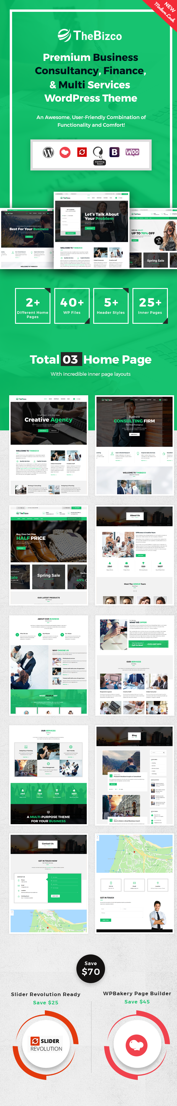 TheBizco WordPress Theme